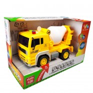 Pojazd z napędem, światłem i dźwiękiem od 36m+ Anek WY510B gruszka - żółto-biały