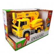 Pojazd z napędem, światłem i dźwiękiem od 36m+ Anek WY510D dżwig - żółty