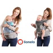 Nosidełko Lionelo 4w1 Lauren Plus - grey (wersja 2018)