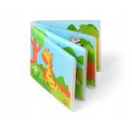 Książeczka kąpielowa piszcząca od 6m+ BabyOno 887 Wild Animals - 1 szt