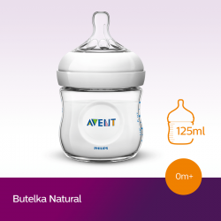 Butelka Avent Natural 125 ml SCF690/17