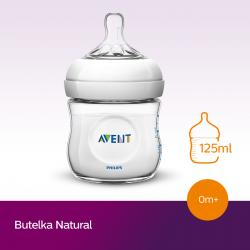 Butelka Avent Natural 125 ml SCF030/17