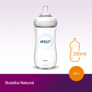 Butelka Avent Natural 330 ml SCF696/17