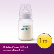 Butelka Avent Classic+ 260 ml SCF563/17