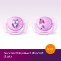 Smoczek uspokajający Ultra Soft 0-6m+ Avent SCF227/20 - 2 szt