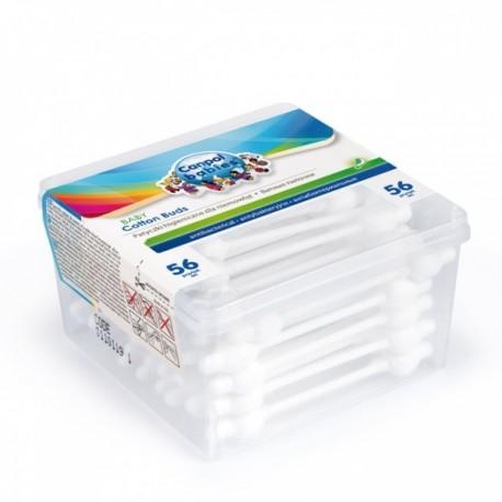 Canpol patyczki higieniczne z ogranicznikiem - 56 sztuk