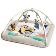 Mata edukacyjna gimnastyka pluszowa dla bobasa z pałąkami Arktyczna Kraina Tiny Love TL1205406830R