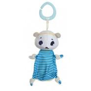 Zabawka zawieszka szmatka Tiny Smarts Miś Polarny Eleanor od 0m+ Tiny Love TL1116500458R