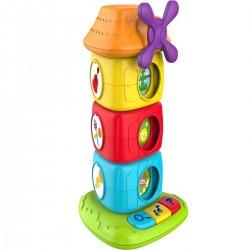 Piramidka Wiatrak zabawka sensoryczna od 12m+ Smily Play S16515