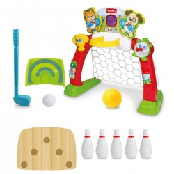 Centrum Sportu 4w1 od 18m+ Smily Play 6003a