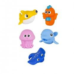 Zabawka do kąpieli Oceaniczne Wodniaki od 6m+ Smily Play 7120 - 5 szt