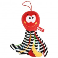 Przytulanka Mini Ośmiornica czerwona od 0m+ 23 cm Mom's Hencz 997