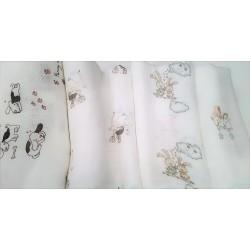 Pielucha bambusowa 75x75 cm Libra Babies - 1 szt