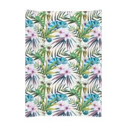 Przewijak nadstawka krótka twarda 50x70 cm Ceba Baby - Flora & Fauna Camaleon Blanco