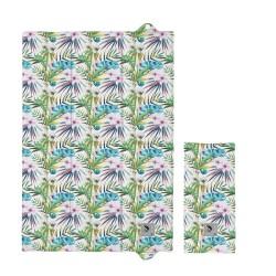 Składana mata do przewijania 60x40 cm  Ceba Baby - Flora & Fauna Camaleon Blanco