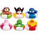 Zabawka do kąpieli 0m+ Canpol 2/994 Zwierzątka na pontonach - 1 szt