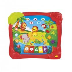 Tablet edukacyjny Dżungla od 18m+ Smily Play 2513
