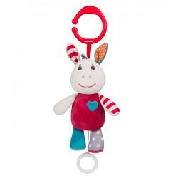 Zabawka wisząca z wibracją od 0m+ BabyOno 1622 Osiołek Frankie 16 cm