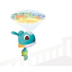 Lampka projektor podróżny pozytywka Wieloryb Cody od 0m+ Tiny Love TL1304306830R BF