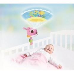 Lampka projektor podróżny pozytywka Wieloryb Suzi od 0m+ Tiny Love TL1304606830R BF