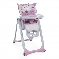 Krzesełko Chicco Polly 2 Start od 0m - Miss Pink