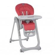 Krzesełko Chicco Polly Magic Relax dla noworodków od 0m - Scarlet