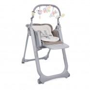 Krzesełko Chicco Polly Magic Relax dla noworodków od 0m - Cocoa
