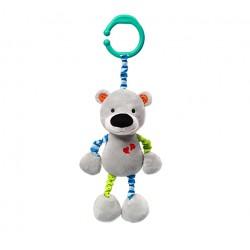 Zabawka welurowa z wibracją od 0m+ BabyOno 618 Bear Basil 33 cm