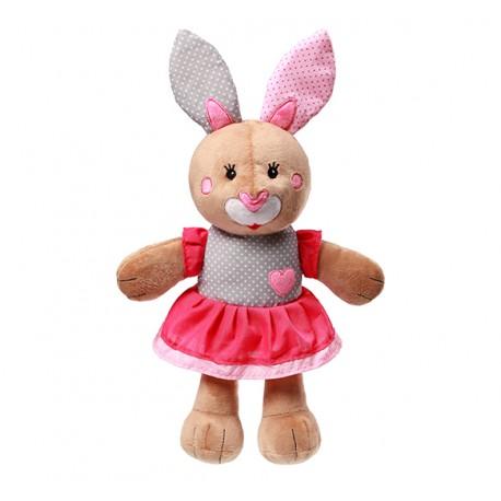 Zabawka przytulanka pluszowa od 0m+ BabyOno 620 Bunny Julia 36 cm