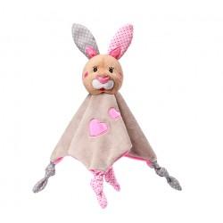 Zabawka przytulanka kocyk od 0m+ BabyOno 622 Bunny Julia 16/25 cm