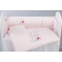 Pościel 3-el Tuttolina Bows - 188 Pink