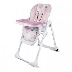 Krzesełko do karmienia KINDERKRAFT Yummy - Pink