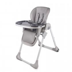 Krzesełko do karmienia KINDERKRAFT Yummy - Grey