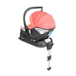 Fotelik Baby-Safe York i-Size 0-13 kg z bazą Isofix - koralowy