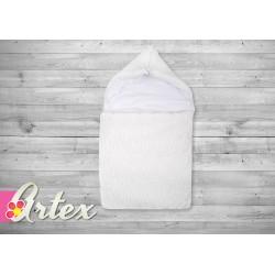 Rożek śpiworek 70x35 cm ARTEX - biały