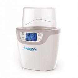 Elektroniczny podgrzewacz pokarmu i sterylizator 2w1 z wyświetlaczem LCD BabyOno 645