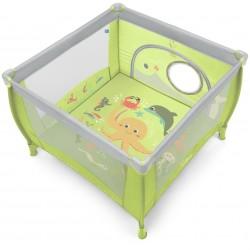 Kojec Baby Design Play 106x106 cm - 04 zielony