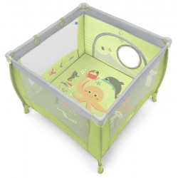 Kojec Baby Design Play Up z uchwytami do podnoszenia - 04 zielony