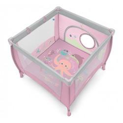 Kojec Baby Design Play Up z uchwytami do podnoszenia - 08 różowy