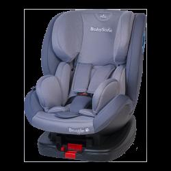 Fotelik Baby-Safe Beagle Isofix 0-25 kg - szary