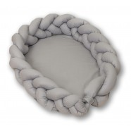 Kokon warkocz 2w1 210 cm AMY Pure - Grey