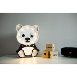 Lampa Lights My Love - Panda szara