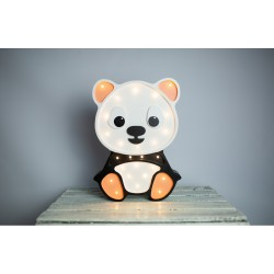 Lampa Lights My Love - Panda pomarańczowa