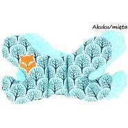 Poduszka antywstrząsowa Motylek Infantilo - Akuku mięta