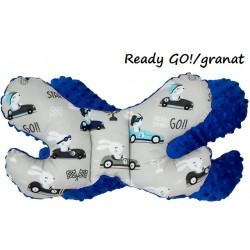 Poduszka antywstrząsowa Motylek Infantilo - Ready GO / granat