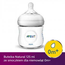 Butelka Avent Natural 125 ml SCF030/17