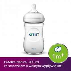 Butelka Avent Natural 260 ml SCF033/17