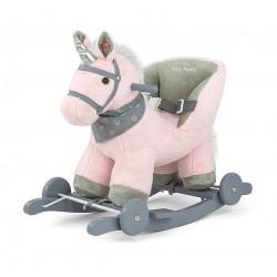 Bujak na biegunach MILLY MALLY - Koń Polly różowy