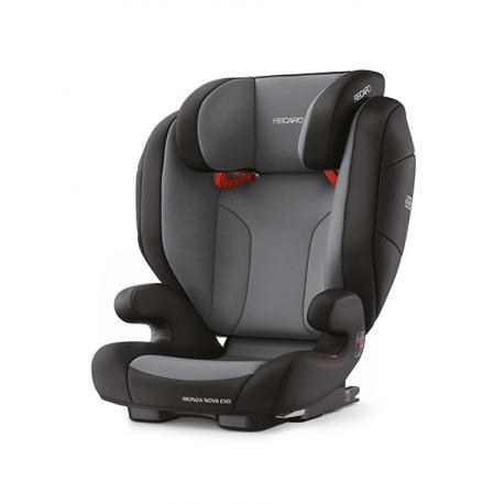 Monza Evo Seatfix 15-36 kg - Carbon Black
