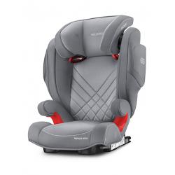 Fotelik Recaro Monza Nova 2 Seatfix 15-36 kg - Aluminium Grey